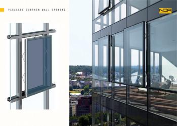 شیشه های سان انرژی در معماری