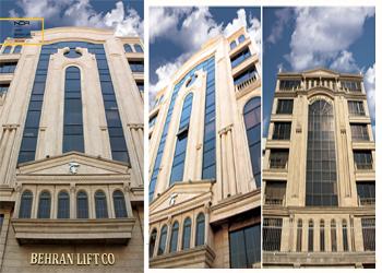 پروژه ساختمان اداری بهران (Office Behran)