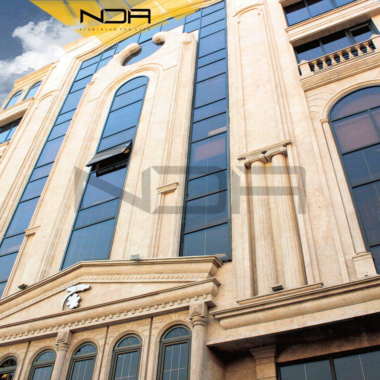 پروژه ساختمان اداری بهران