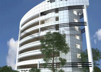 پروژه مجتمع اداری بانک کارآفرین فرمانیه