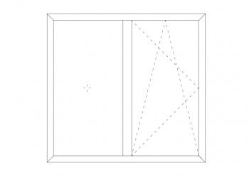 پنجره های لولایی ترمال بریک هیدن ونت