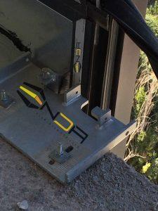 براکت انتظار جهت نصب اتصال مولیون ها در سیستم یونیتایز