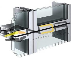 معرفی سیستم یونیتایز و سیستم استیک در نمای کرتن وال
