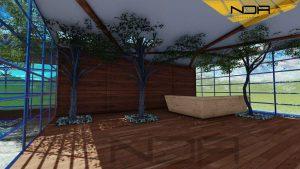 پروژه مجموعه تاریخی و فرهنگی طاق بستان